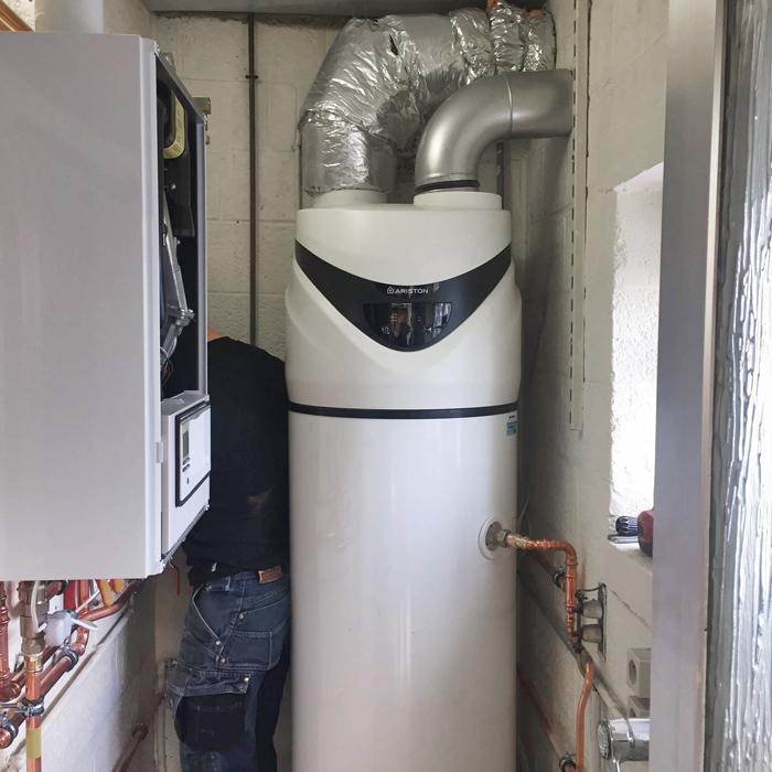 Heylen pompe à chaleur Charleroi
