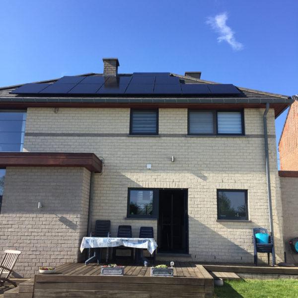 toit panneaux solaires Heylen Sambreville