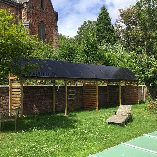 panneaux photovoltaïques installation