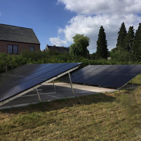 photovoltaïque installation Heylen