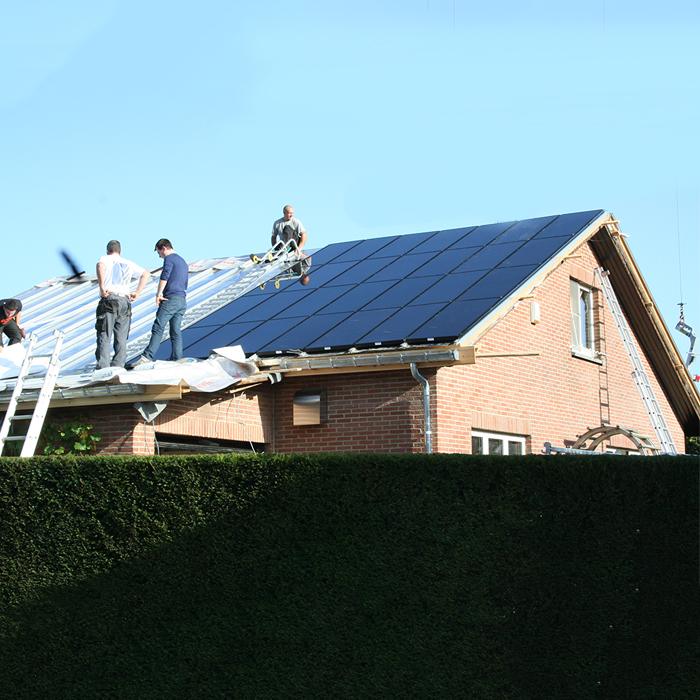 integration de panneaux photovoltaiques