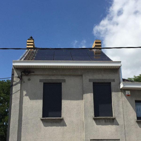 photovoltaïque toit Heylen Sambreville