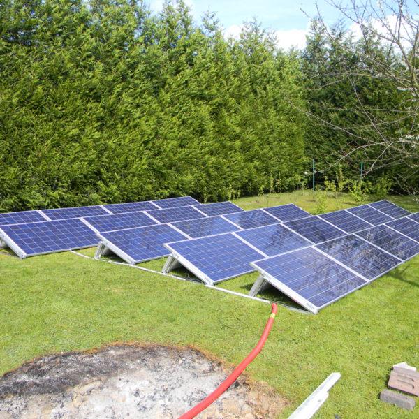 services photovoltaïques installation